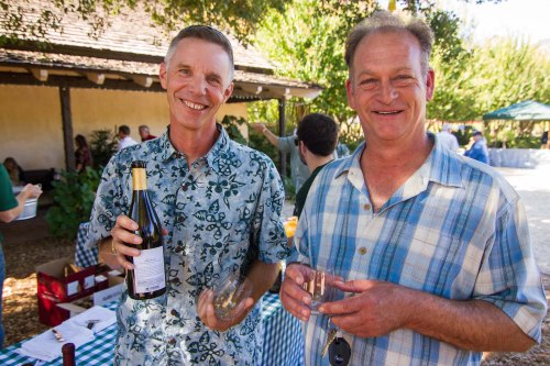 Vineyard Manager Jeffrey Gould and Wineamker Greg Stach